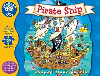 Orchard Toys - Puzle (100 piezas), diseño de barco pirata de Orchard Toys