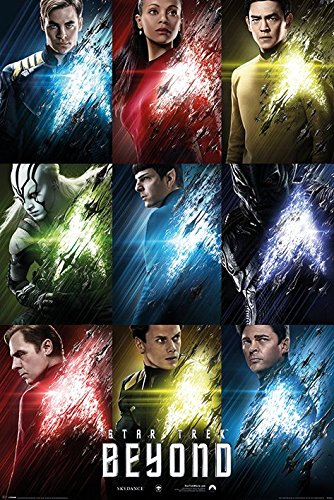 Star Trek Beyond Poster Pack Characters 61 x 91 cm (5) Pyramid International Posters Wallscrolls