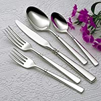 Oneida Easton 65 Piece Service for 12 Plus 5 Serving Pieces Flatware Set by Oneida