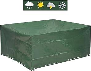 Abdeckplane Gartenmöbel 250x210x90   Gartenmöbel Abdeckung Wasserdicht  Schutz Vor Wind Und Wetter   Schutzhülle Für Eckige