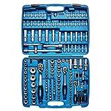 KRAFTPLUS® K.122-8372 Serie Di Chiavi A Bussola 1/4' 3/8' 1/2' Set chiavi a tubo - 172 Pezzi