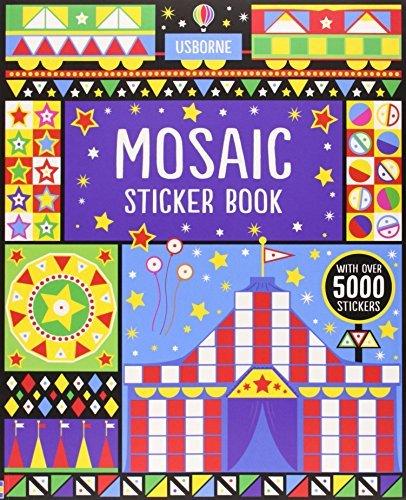 Mosaic Sticker Book (Usborne Sticker Books) by Usborne Publishing Ltd (2013-12-01)