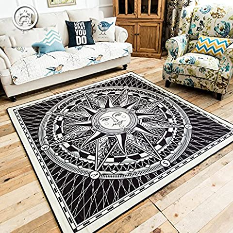 Carel modern European and American fashion beauty square entrance hallway living room coffee table sofa carpet mats large door mats