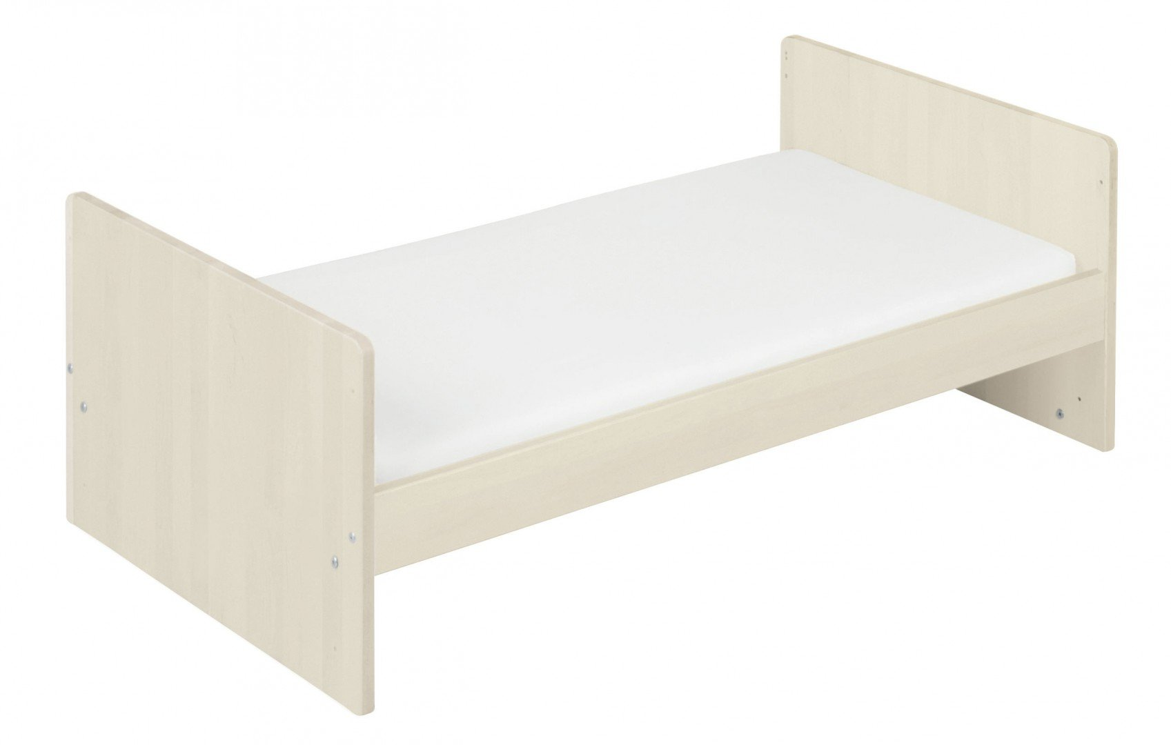 BioKinder 22600 Lina babybed cot 70x140 cm. Biological massive wood Bio-Kinder Babybed cot Lina Sustainable solid wood. Biological finish. Individually handcrafted by professional carpenters Surface W 70 cm, L 140 cm. Outward measurement L 150 cm, W 77 cm, H 90 cm. 2
