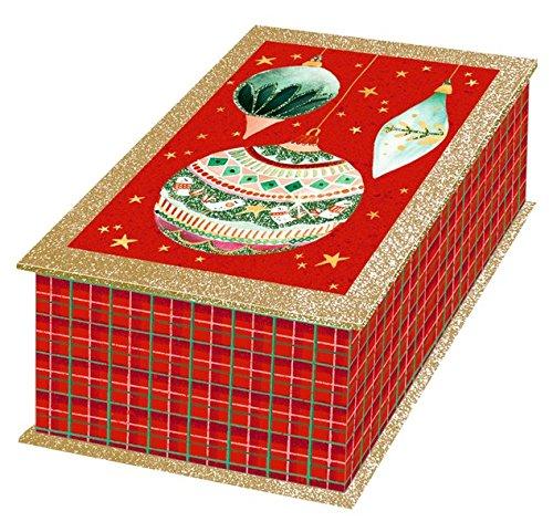 Glitzerschachtel - Weihnachtskugeln