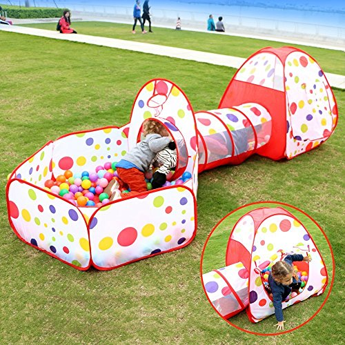 play-house-tenda-tunnel-focusun-pop-up-kids-play-tenda-con-tunnel-and-ball-pit-indoor-e-outdoor-faci