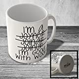 MUG_FUN_2063 JOINER - I'm Good With Wood - funny mug