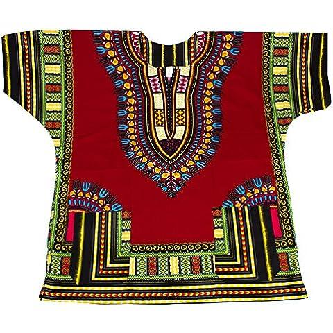 Lofbaz Unisex Lofbaz Dashiki Stampa Tradizionale Africana Hippy