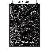 Mr. & Mrs. Panda Poster DIN A2 Stadt Bergisch Gladbach