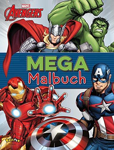 The Avengers - Mega-Malbuch ()