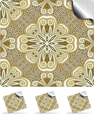 2 Sahara - Self Adhesive Mosaic Wall Tile Decals For