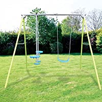 Airwave Cirrus Garden Swing and Glider Kids Outdoor Play Set
