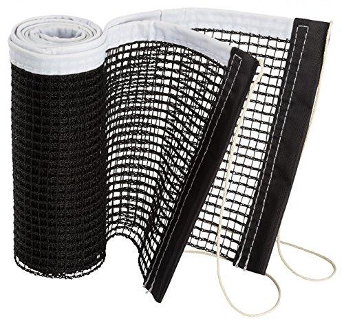 Tischtennis Netz einzeln (Farbe: schwarz)