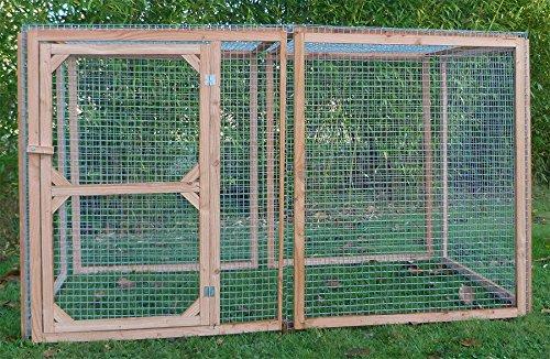 Enclos poule anti-prédateurs hauteur 100 cm made in France Taille 2 mètres