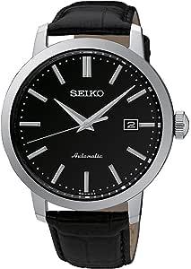 Seiko Orologio Analogico Automatico Uomo con Cinturino in Pelle SRPA27K1