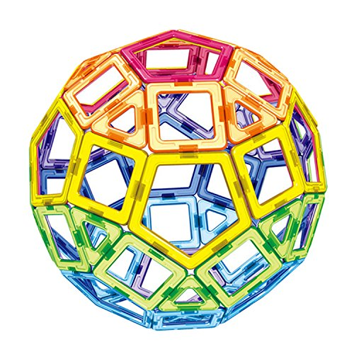 Beetest Bloques de construcción magnéticos / 62 PCS Juguete de la Construcción / Juguetes para niños / Construcciones magnéticas