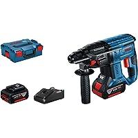 Bosch Professional 0611911102 Martello Perforatore, con 2X4.0Ah Batterie, in L-Boxx