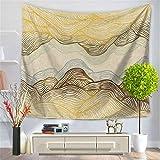AdoraTapestry wandteppich wandtuch wandbehang Tapestry Tapisserie Wanddekoration Wandkunst wandtücher Frisch Bunt Muster Wandbehang 150 * 130cm
