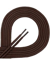 Di Ficchiano© Qualité-Lacets, ronds,Lacets pour chaussures en cuir, chaussures de sport, durable, ø 3 mm, 21 couleurs, longueurs 60 - 130 cm