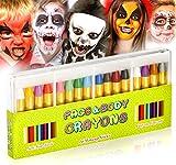 JamBer 16 Farben schminkstifte gesichtsfarbe, kinderschminke,Painting,ungiftig einfach waschbar