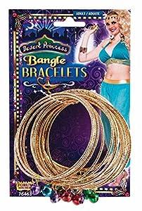 Forum Novelties 76463Desert Princess Bangle Pulseras, un tamaño