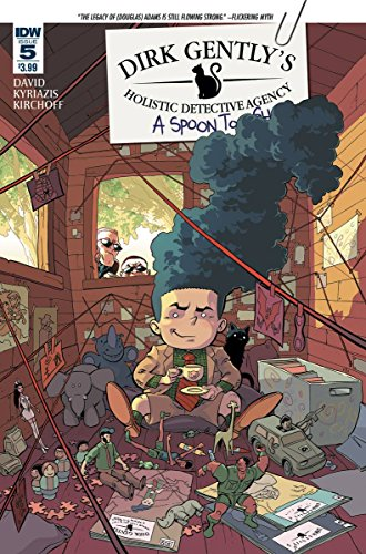 Dirk Gently's Holistic Detective Agency: A Spoon Too Short #5 (of 5) ((Regular Cover)) - IDW - 2016 - 1st Printing