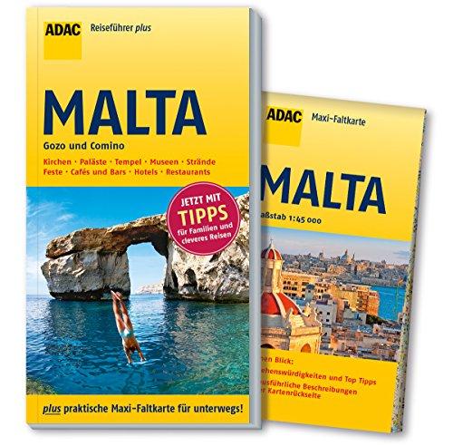 adac-reisefuhrer-plus-malta-mit-maxi-faltkarte-zum-herausnehmen