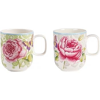 Villeroy Boch Rose Cottage Kaffeebecher 2er Set 350 Ml Premium