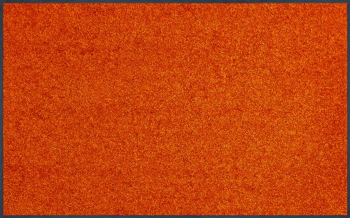 WASH + DRY - ALFOMBRA BURNT ORANGE 75X120  NARANJA