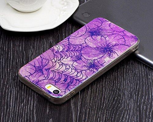 JIALUN-étui pour téléphone Pour Apple IPhone 5 & 5s & SE Case, étui de protection de façade pour téléphone portable ( Color : D ) A