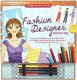 Fashion Designer Sketch Pad (Fashion Sketch Kit) (Young Artist (Peter Pauper Press))