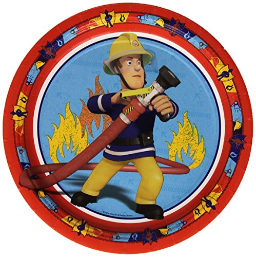 amscan-international-23-cm-fireman-sam-paper-plates