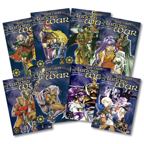 Chronicles of the Heroic Knights, Vols. 1-8 Komplett-Set (8 DVDs)
