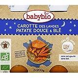 babybio Blé et légumes variés, dès 6 mois, certifié AB ( Prix unitaire ) - Envoi Rapide Et Soignée