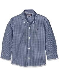 Tommy Hilfiger Jungen Hemd Ame Mini Gingham Shirt L/S