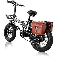 Elektrofahrrad E-Bike Klapprad 20 Zoll, 15AH 48V Lithium-Batterie Mit 750W Motor, Poland-Warehouse, 4.0 Fat Tire…
