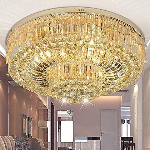 FEI&S lampadario di cristallo soggiorno lampada da soffitto LED,100cm