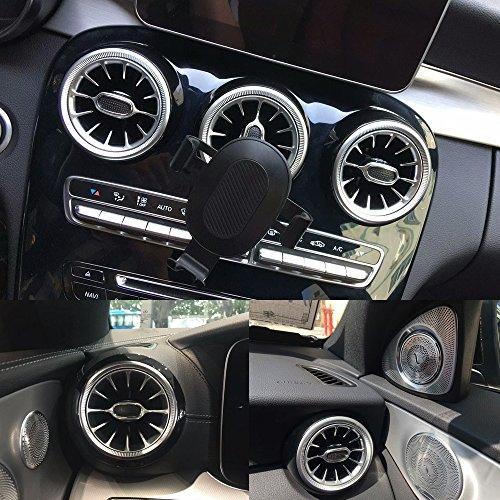 5PCS set deodorante per auto auto aria condizionata Air Vent Outlet Car fragranza auto profumo per Mercedes-Benz Glc e C Full Series