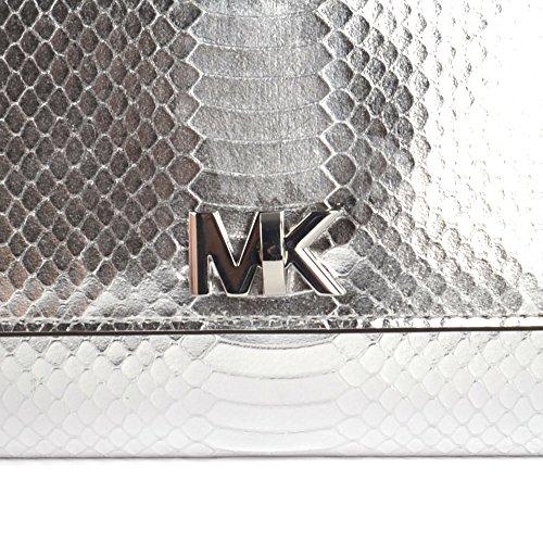 MICHAEL by Michael Kors Mott Silber Clutch Silber
