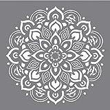 Rayher Schablone Mandala, Diverse, Grau, 3.3 x 3.1 x 0.02 cm