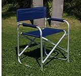 tubolare direttore sedia tessuto in alluminio e poliestere PVC PLAYA