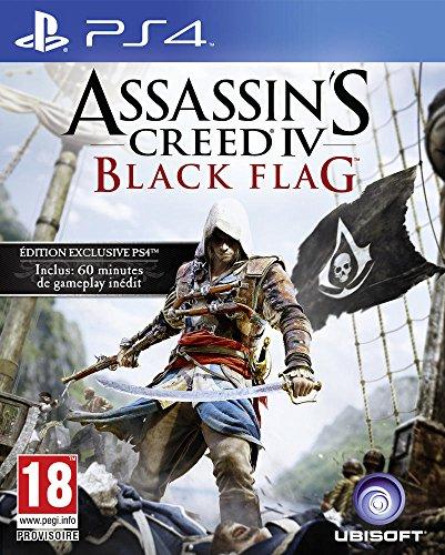 Assassin's Creed IV : Black Flag - PlayStation 4 - [Edizione: Francia] - Amazon Videogiochi