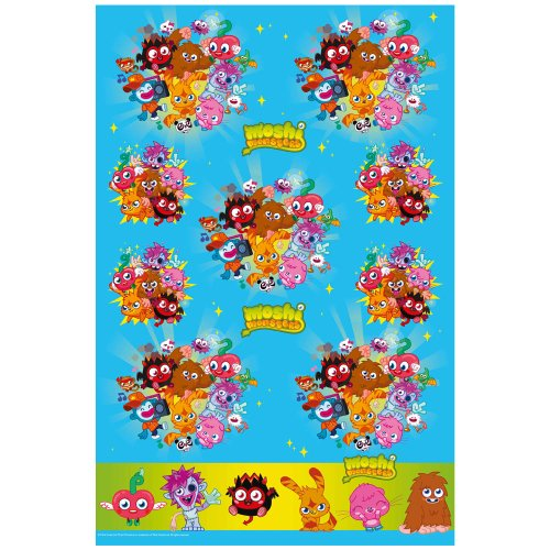 Moshi Monsters Birthday Party Table Cover Boîte de 1