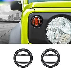Anifm Lampenhauben Auto Blinker Licht Lampenabdeckung Zubehör Für Suzuki Jimny Jb74 2019 2020 Küche Haushalt