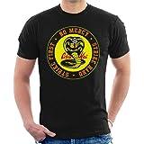 Cobra Kai Snake Logo No Mercy - Camiseta para hombre