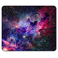 Pink Purple Solar System Mouse Mat Pad - Space Galaxy Fun Gift PC Computer #8545