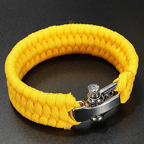 toogoor-7-strand-di-sopravvivenza-militare-tessuto-bracciale-cord-buckle-giallo