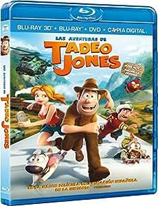 Tadeo Jones [Blu-ray 3D] [Import espagnol]