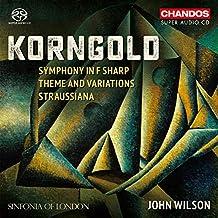 Korngold: Symphony In F Sharp [Sinfonia of London; John Wilson] [Chandos: CHSA 5220]