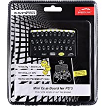 SPEEDLINK Mini Chat-board for PS3 - Volante/mando (Gamepad, Mac, PC, Playstation 2, Playstation 3, Xbox)